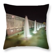 Charlotte Romare Bearden Park Throw Pillow