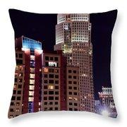 Charlotte Skyscraper Throw Pillow