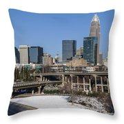 Charlotte Snow Throw Pillow