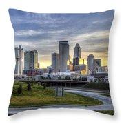 Charlotte Sunrise Throw Pillow