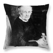 Charlotte Woodward Pierce (c1830-1921) Throw Pillow
