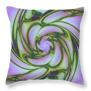 Charlotte's Crazy Spring Web Throw Pillow