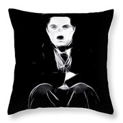 Charly The Tramp Throw Pillow