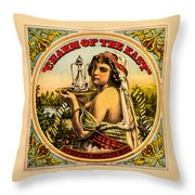 Charm Of The East Throw Pillow