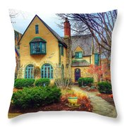 Charming Home Throw Pillow