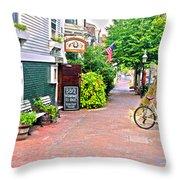 Charming Nantucket Throw Pillow
