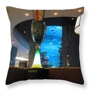 Chart House Restaurant Las Vegas Throw Pillow