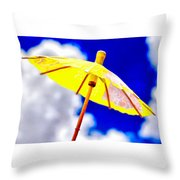 Chase The Clouds Away Throw Pillow
