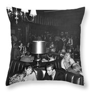Chasen's Hollywood Restaurant Throw Pillow