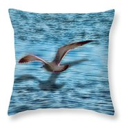 Chasing My Shadow Throw Pillow