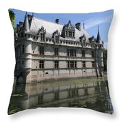 Chataeu Azay-le-rideau Throw Pillow