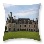 Chateau Beauregard Loire Valley Throw Pillow