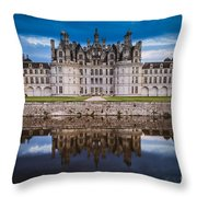 Chateau Chambord Throw Pillow