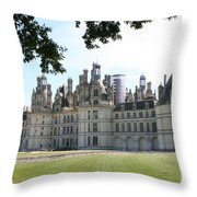 Chateau Chambord - France Throw Pillow