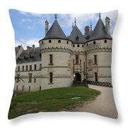 Chateau Chaumont Steeples Throw Pillow