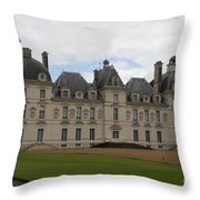 Chateau Cheverney - Front View Throw Pillow