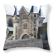 Chateau D'angers - Chatelet  Throw Pillow