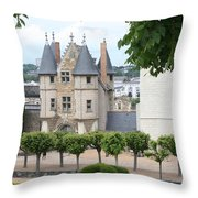 Chateau D'angers - Chatelet View Throw Pillow