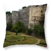 Chateau D'angers Throw Pillow