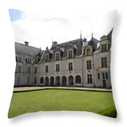 Chateau De Beauregard Loire Valley Throw Pillow