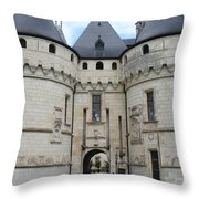 Chateau De Chaumont - France Throw Pillow