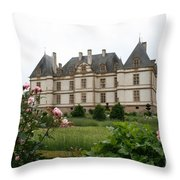 Chateau De Cormatin Garden Throw Pillow