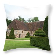 Chateau De Cormatin Stable Throw Pillow