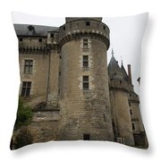 Chateau De Langeais - France Throw Pillow