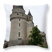 Chateau De Langeais Tower Throw Pillow