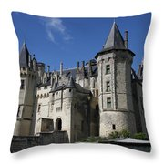 Chateau De Saumur Throw Pillow