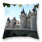 Chateau De Sully-sur-loire Throw Pillow