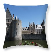 Chateau De Sully-sur-loire View Throw Pillow