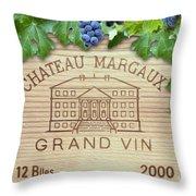Chateau Margaux Throw Pillow
