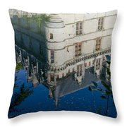 Chateau Reflection Throw Pillow