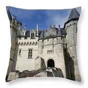 Chateau Saumur  Throw Pillow