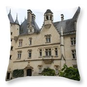 Chateau Usse Throw Pillow