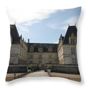 Chateau Villandry Throw Pillow