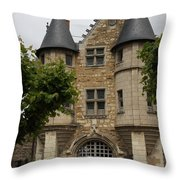 Chatelet - Chateau D'angers  Throw Pillow