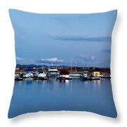 Chatfield Marina Throw Pillow