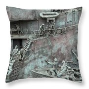 Chatham Dockyard Memorial Throw Pillow