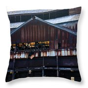 Chattanooga Pipe And Whetland Warehouse 12 Throw Pillow