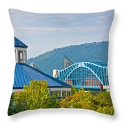 Chattanooga View Throw Pillow