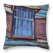 Chattel House Throw Pillow