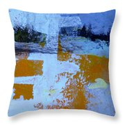 Chatter Four Throw Pillow