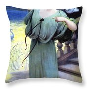 Chaussres Laffite Throw Pillow