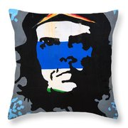 Che Guevara Picture Throw Pillow