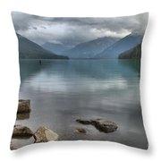 Cheakamus Lake - Squamish British Columbia Throw Pillow