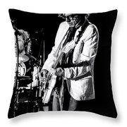 Cheap Trick 5 - Silver Springs Florida 2014 Throw Pillow