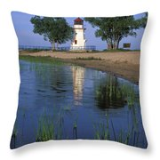 Cheboygan Crib Light - Fs000378 Throw Pillow