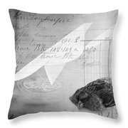 Check Out Throw Pillow